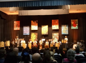 Banda Marcial de Dilermando de Aguiar participa de concerto em Santa Maria
