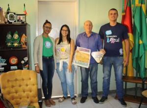 Equipe da AAPECAN divulga ações em Dilermando de Aguiar