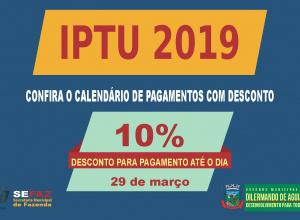Prefeitura de Dilermando de Aguiar libera guia de pagamento do IPTU 2019